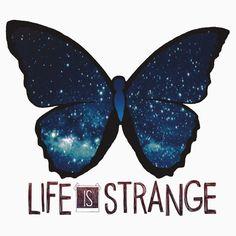 Life is Strange Galaxy Butterfly   Unisex T-Shirt