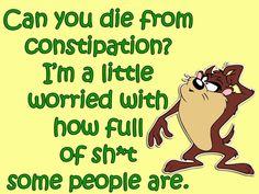 Full of sh** Cartoon Quotes, Jokes Quotes, Sarcastic Quotes, Wisdom Quotes, Funny Quotes, Funny Memes, Offensive Quotes, Qoutes, Life Quotes