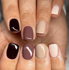Manicure Y Pedicure, Manicure Ideas, Manicure Pictures, Nail Tips, Cute Nails, Pretty Nails, Cute Fall Nails, Hair And Nails, My Nails
