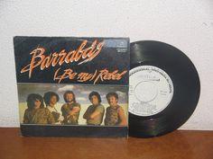 Barrabás   7´´ Mega Rare Vintage Promo White Label Spain 1982