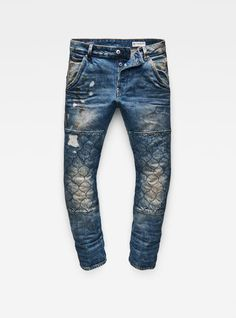 Da Uomo Regular Fit Straight Leg ENZO Vintage alla Moda Fashion Designer Denim Jeans