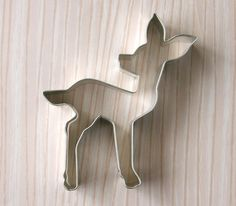 This Indie Shop Has The Very Best Cookie Cutters Ever! Fawn or deer cookie cutter
