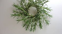 Little rosemary wreaths - HOME SWEET HOME - made by Acadian Driftwood, Craftster.org tutorial