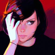zutsuu by Kuvshinov-Ilya.deviantart.com on @DeviantArt