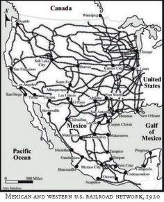 Railroad Maps Of Southeast Railroad Routes Genealogy - Us railroad map 2016
