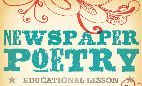 Newspaper Poetry - This is a fun, inspiring way to get your students' creativity flowing and teach different forms of poetry #Oklahoma #Education #Curriculum #Creativity #Poetry #ElementarySchool #MiddleSchool #HighSchool