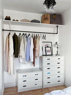 rangement vêtements