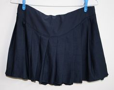 Genuine Nike Tenis Skirt Navy Blue Size M (168cm) Sport Style Fitness Designer