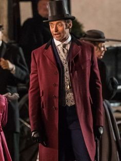 Step into the world of magic with the P.T Barnum Red Coat worn by Hugh Jackman in The Greatest Showman movie. Grab Now! #Christmas_Sale #Mega_Sale #Sale