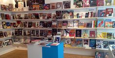Bilderbox – Not an Average Comic Bookshop. A store in Vienna specializing in comic books and street art.