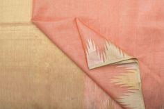 Urdir Handwoven Linen Silk Sari 1021013 - Sari / Linen - Parisera