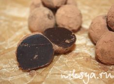 Трюфели от Пьера Эрме «Два шоколада с карамелью на солёном масле»