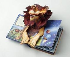 How to Make Pop-Up Books has a sweet little tutorial, nothing major