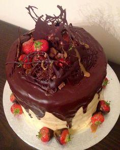 Choc caramel cake