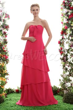 A-Line Strapless Floor-Length Yana's Bridesmaid Dress 10520053 - 2013 Bridesmaid Dresses - Dresswe.Com