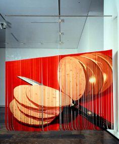 Sliced Bologna. 1968.James Rosenquist