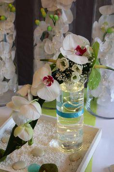 Décoration mariage sur le thème Zen & Orchidée