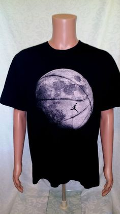 Jordan Jumpman To The Moon Short Sleeve Tee T-Shirt Very Rare Size XL Air Jordan #Jordan #GraphicTee