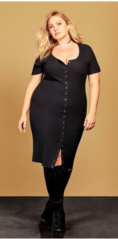 Plus Size BodyCon Dress - Plus Size Fashion for Women #plussize