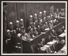 November 20, 1945: Nuremberg Trials Begin   On this day in 1945, twenty-four high ranking Nazis went on trial in Nuremberg, Germany for the ...