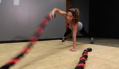 Wave Then Travel Endurance Battle Rope Workout
