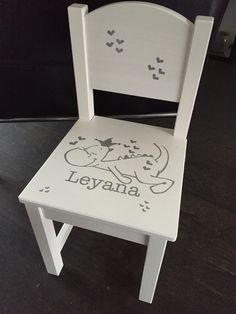 Gepimpt stoeltje gemaakt door KUNSTstijl