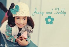 free crochet beanie hat pattern with bow. #beanie crochet hat #how to #free pattern