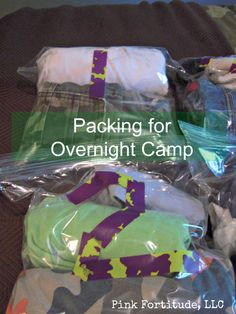 How to Pack for Overnight Camp by coconutheadsurvivalguide.com