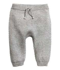 Moss-knit Pants