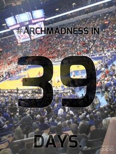 Are you ready for #ArchMadness?