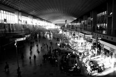 Black and white photo of airport - shot by Avo Photography