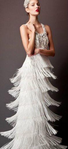 20s Fler Wedding Dress So Cool Great Gatsby 1920s