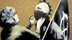 art museum punks - banks