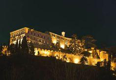 CastelBrando Italy at night!