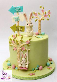 #easter #bunny #cakeideas Easter Bunny, Easter Eggs, Cake Picks, Egg Hunt, Birthday Cake, Cakes, Desserts, Top, Tailgate Desserts