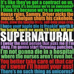 Supernatural Dean Quotes | dean gifts dean phone cases supernatural quotes incredible 2 phone ...