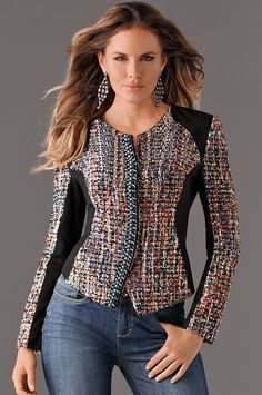 23 Women's Stylish Jackets To Look Cool And Fashionable - Luxe Fashion New Trends - Fashion Ideas Blazer Outfits, Casual Outfits, Fashion Mode, Fashion Trends, Stylish Jackets, Pretty Outfits, Casual Chic, Winter Fashion, Fashion Dresses