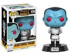 "Toys""R"" Funko Pop Disney Star Wars Rebels 375 Inch Vinyl Figure Grand Funko Figures, Vinyl Figures, Action Figures, Pop Figures, Disney Star Wars, Grande Almirante Thrawn, Thrawn Star Wars, Star Wars Celebration, Celebration 2017"