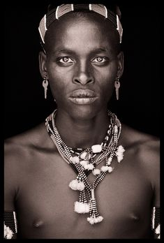 Africa |  From the 'Ethiopia - East/West and Omo Valley' Portraits by John Kenny