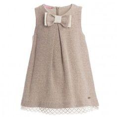 Liu-Jo Baby Girls Wool Pinafore Dress at Childrensalon.com