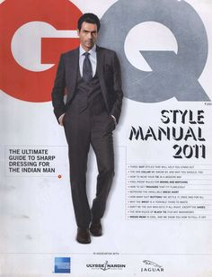 Arjun Rampal GQ India Cover