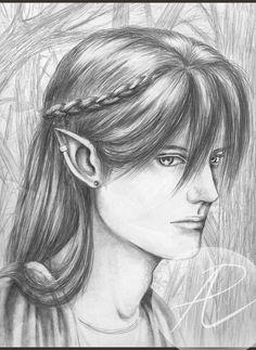 Wealthy Elf Portrait