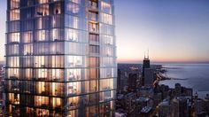 Construction on Studio Gang's supertall Vista Tower is officially moving forward. An announcement from Mayor Rahm Emanuel is expected today and will reveal plans to break ground on the 1,186-foot tower as early as next month.