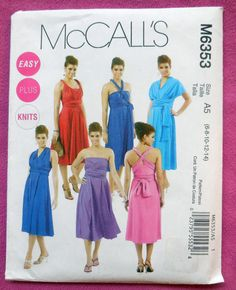 McCall's 6353  Amazing & Unique Special Occasion by Clutterina