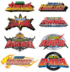 Disney Era Sentai Logos by on DeviantArt
