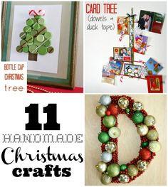11 really awesome handmade christmas crafts!