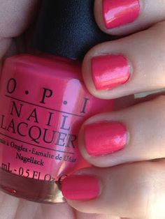 OPI: Charged Up Cherry