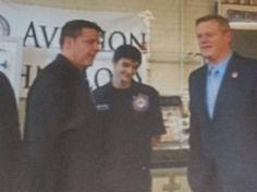Gov. Charlie Baker gets crash course in Aviation Technology from students at Westfield Technical Academy - MassLive.com