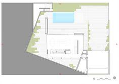 15_01 CASA A | rem-a-arquitectos Interior Exterior, Floor Plans, Diagram, Architecture, Home, Two Story Deck, Courtyards, Underground Garage, Houses