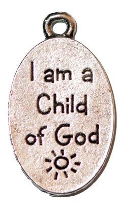 I Am A Child of God - Silver